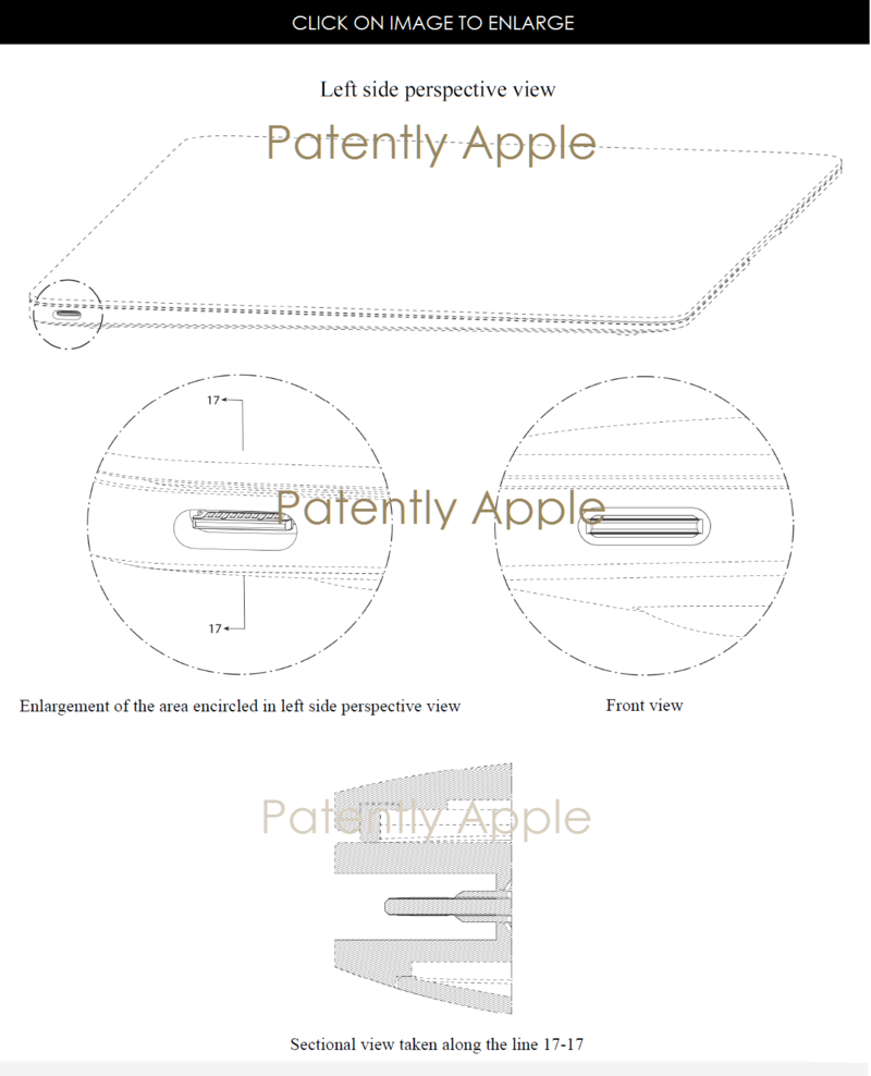 2AF 55 APPLE GRANTED PATENT FOR MACBOOK WITH USB TYPE-C PORT