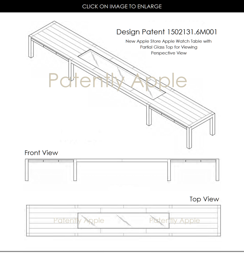 2AF 88 APPLE STORE - NEW LONG APPLE WATCH TABLES
