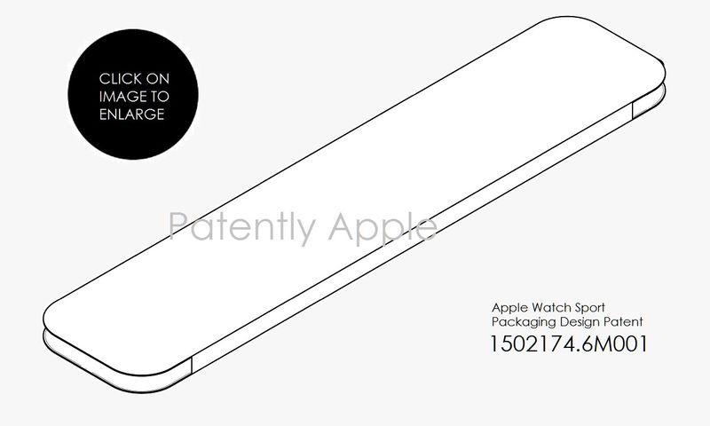 2AF 55  apple watch case PKG PATENT
