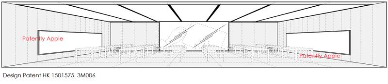 5AF 55 APPLE STORE DESIGN HK PATENT 3M006