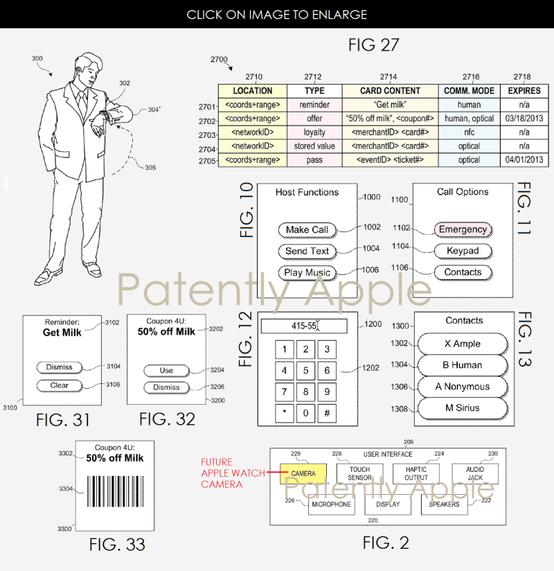 3af 55 apple watch related patent