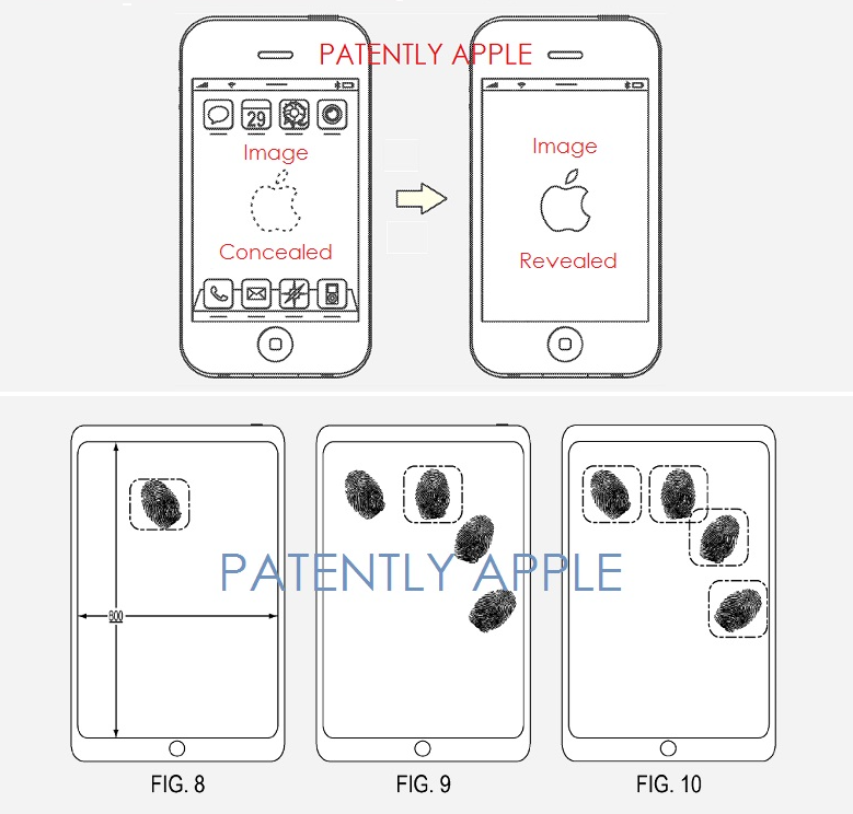 4AF APPLE PATENT FIGURES FROM 2 PATENT FILINGS