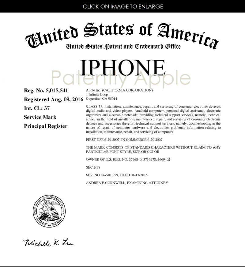 2af 55 iphone rtm certificate aug 2016