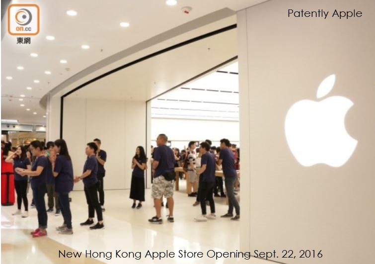 3 hong kong apple store opening, sept 22, 2016 -
