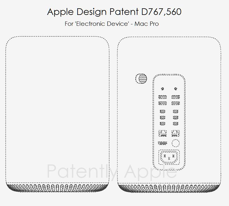 4af 88 Mac Pro design patent figures