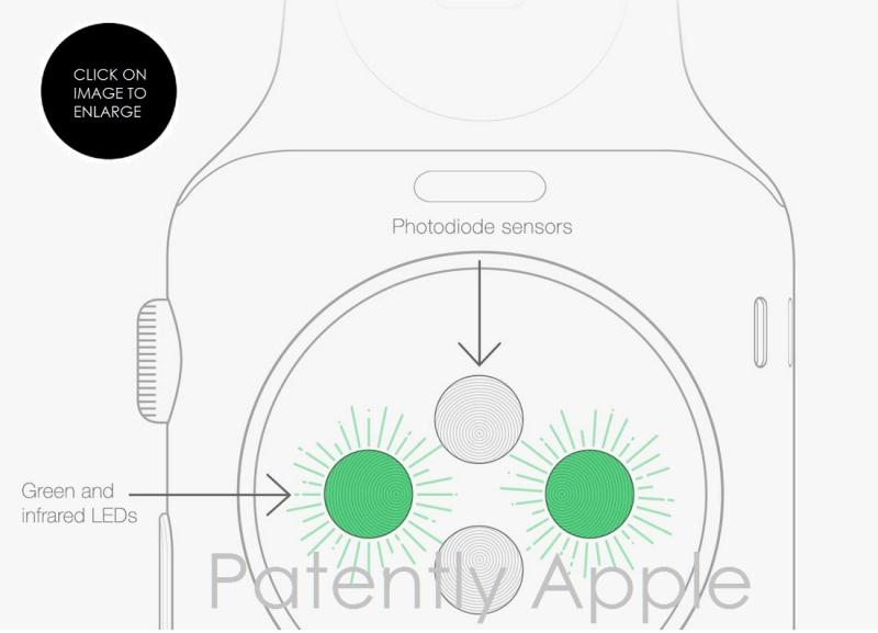 4af 888 Apple Watch photodiode sensor
