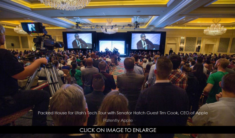 1XXX 999 cover Apple CEO in conference with Senator Hatch in Utah