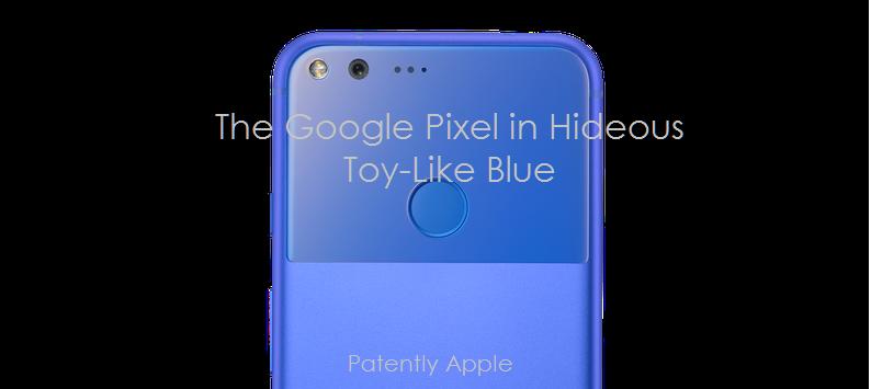 1af 99 x Pixel Smartphone in Hideous Blue