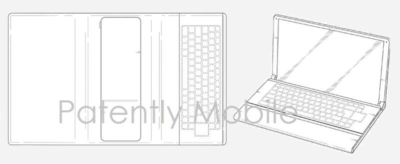 1AF 99 COVER - SAMSUNG DESIGN PATENT, FOLDABLE TABLET GRANTED BY USPTO