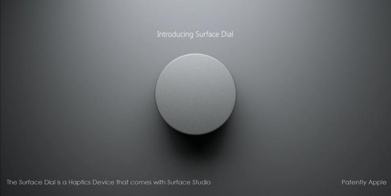 6af 88 surface studiio - surface dial