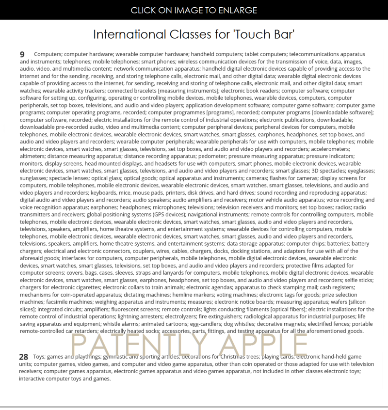 3AA INTERNATIONAL CLASSES FOR TOUCH BAR