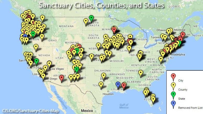 2 sanctuary cities