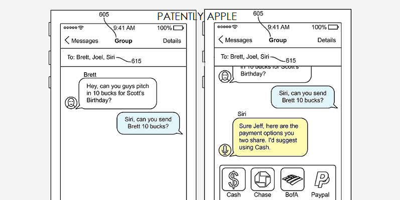 1AFX 88 SIRI IN IMESSAGE FOR APPLE PAY TRANSACTION ACCOMODATION