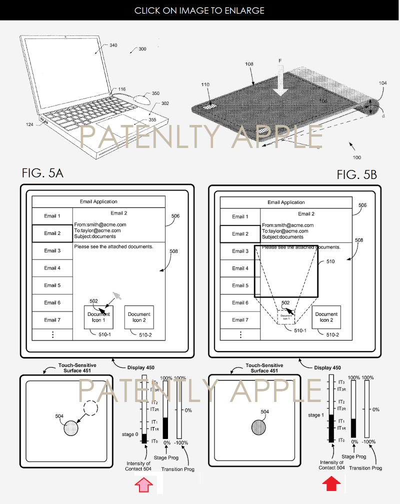 2AF X 88 FORCE TOUCH PATENTS