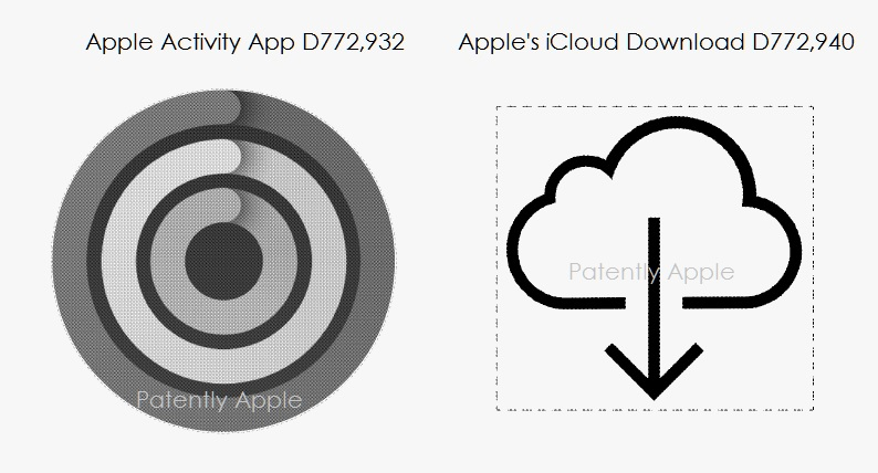 5AF 88 DESIGN PATENTS - ICONS ACTIVITY APP + ICLOUD DOWNLOAD