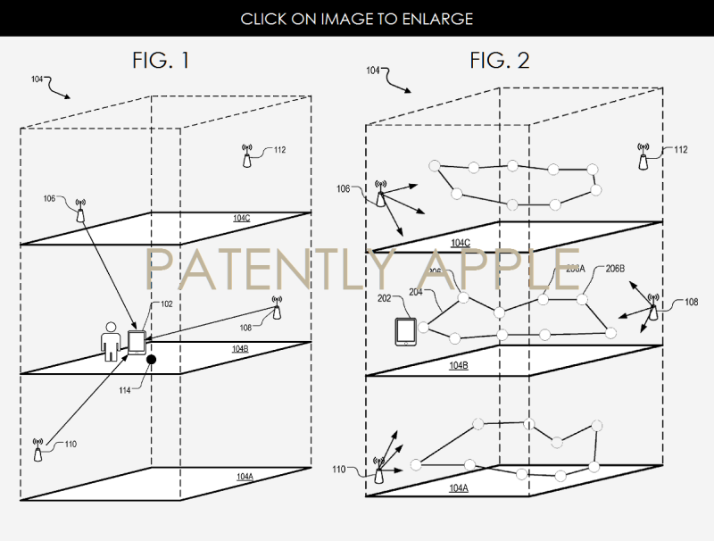 apple indoor mapping invention automatically determines