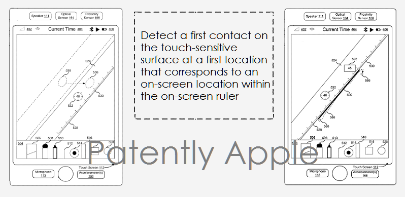 1 AAXF 99 APPLE'S VIRTUAL RULER PATENT