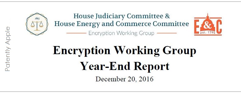 1af x 88 cover House Judiciary committee - encryption report dec 20, 2016