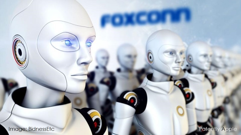 1AF 88 FOXCONN ROBOT LINES INCREASING