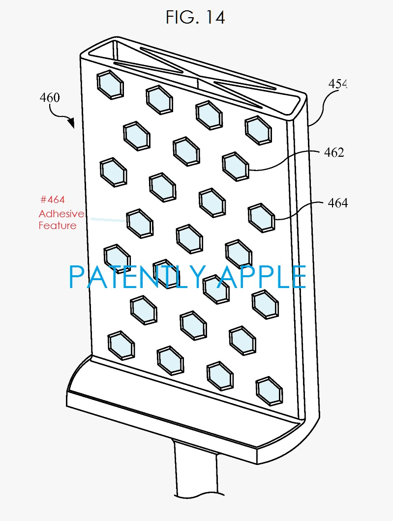 5AF ADHESIVE SYSTEM TO ASSIST IN HOLDING AN IDEVICE IN PLACE FOR XRAY