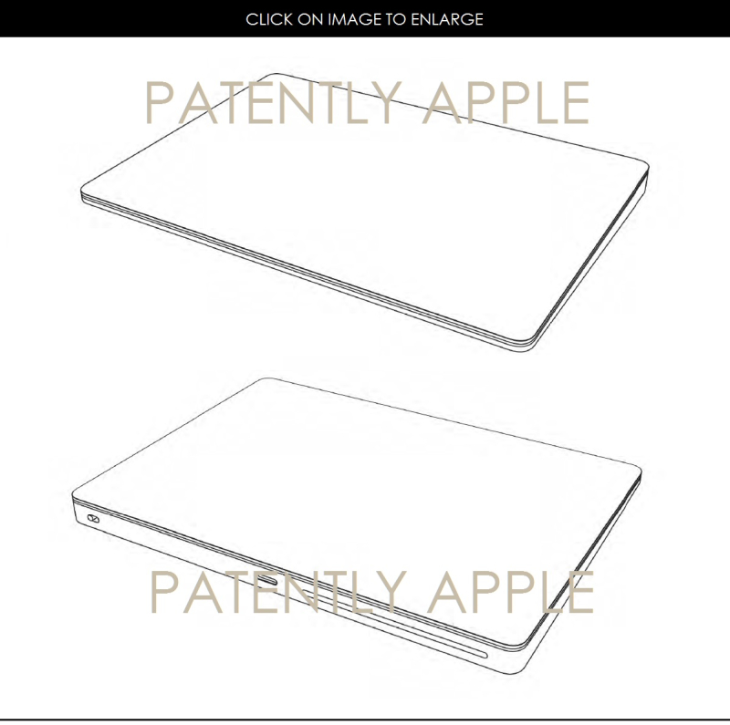 2AF 88 MAGIC TRACKPAD DESIGN PATENT HONG KONG