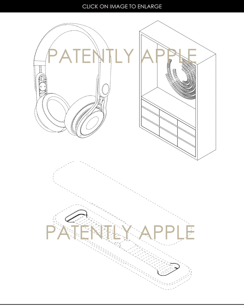 4AF X DESIGN PATENTS FOR FEB 7 2017 HEADPHONES, A STORE DISPLAY AND PKG