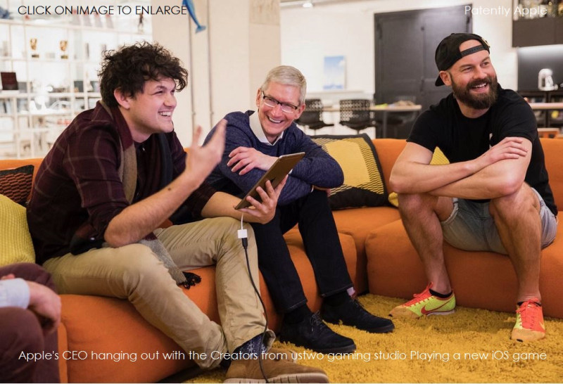 4bbbx ustwo gaming studio London with Tim Cook