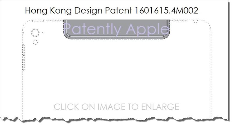 7 AFX 9999AXXX  HK GRANTS APPLE iPad Pro design patent .4M002 for Cellular Data antenna area feb 2017