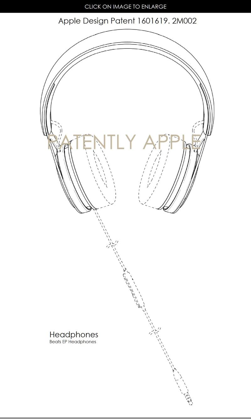4AF X99 BEATS HEADPHONES DESIGN PATENT