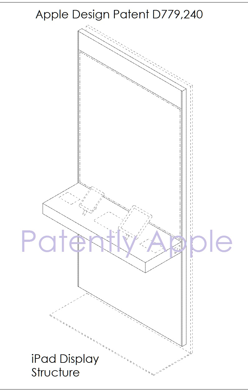 5 AF X99 DESIGN PATENT - IPAD DISPLAY STRUCTURE