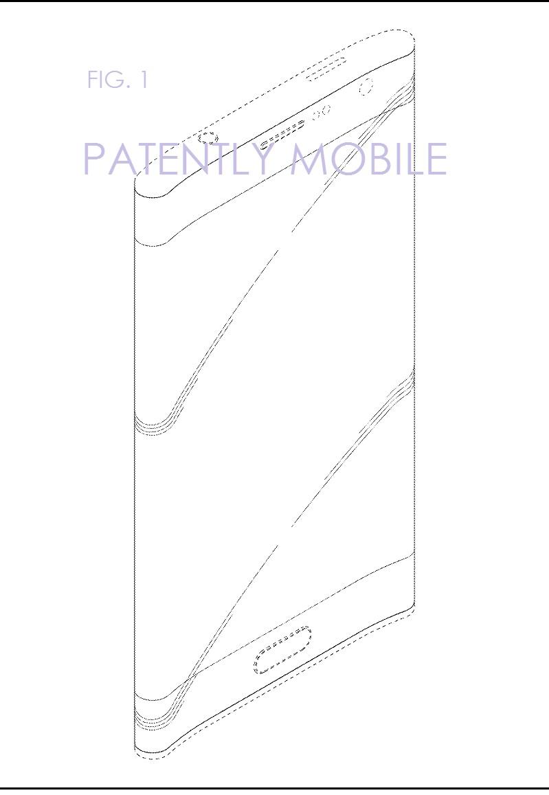 5AF X99 SAMSUNG PHONE DESIGN PATENT FEB 2017