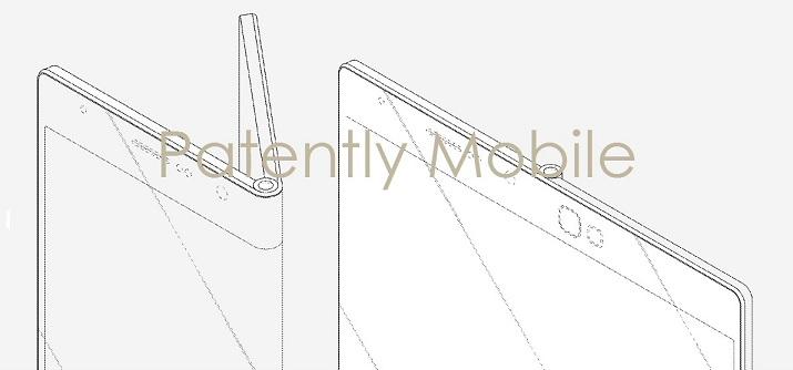 1af 88 cover samsung fold out smartphone, samsung trademark