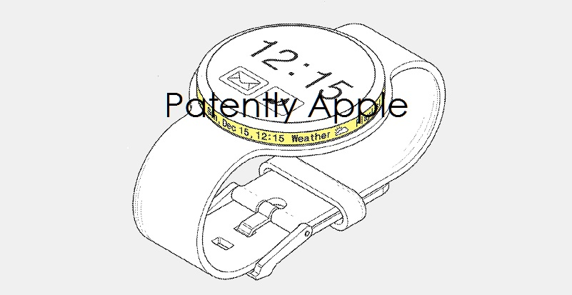 Samsung Invents a Future Smartwatch with a Unique Secondary Rim Display