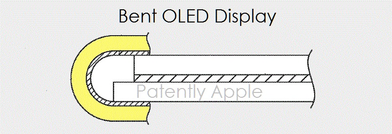 1af 99 cover oled display with bent display