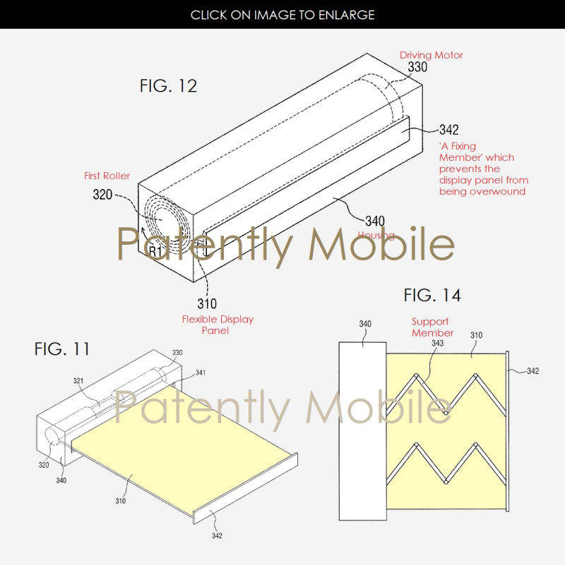 6AF X999 SAMSUNG SCROLLABLE DISPLAY DEVICE