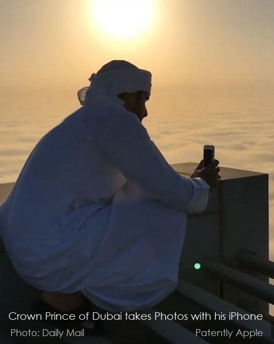 2 AX CROWN PRINCE DUBAI TAKES PHOTOS ATOP A SKYSCRAPER USING IPHONE