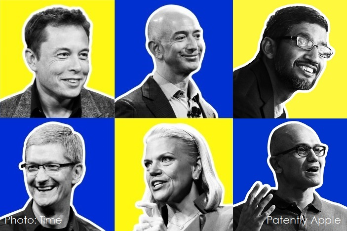 1 AFX 999 FINAL - TIME 2017 LIST OF INFLUENTIAL CEO's