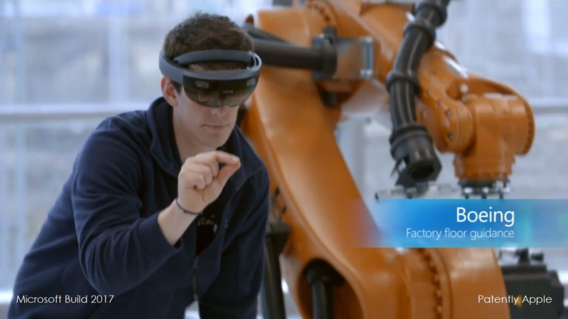4 X999 BOEING HOLOLENS