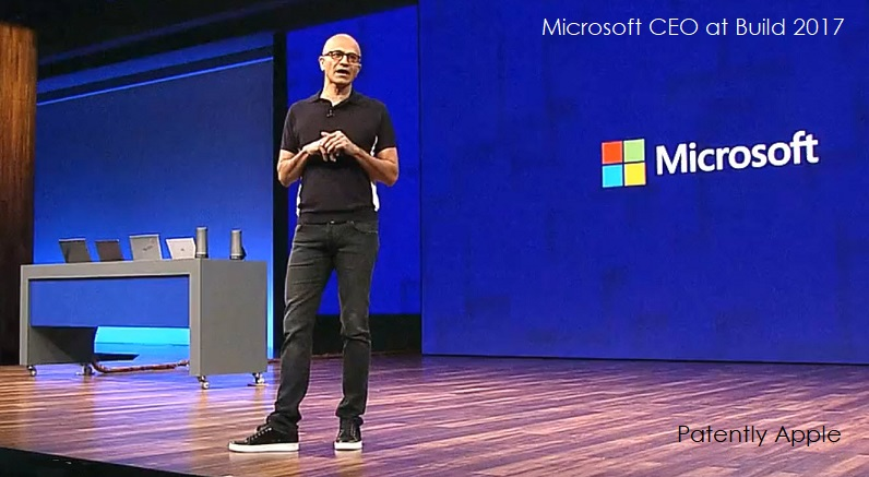 4F X99 MSFT CEO THIS WEEK AT BUILD 2017