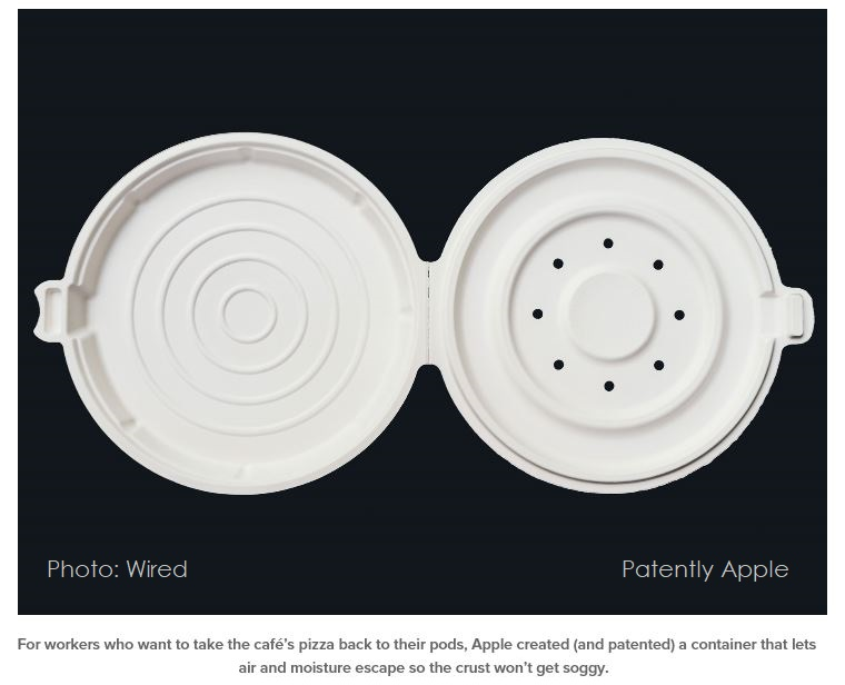 3AF WIRED  X99 APPLE PIZZA CONTAINER