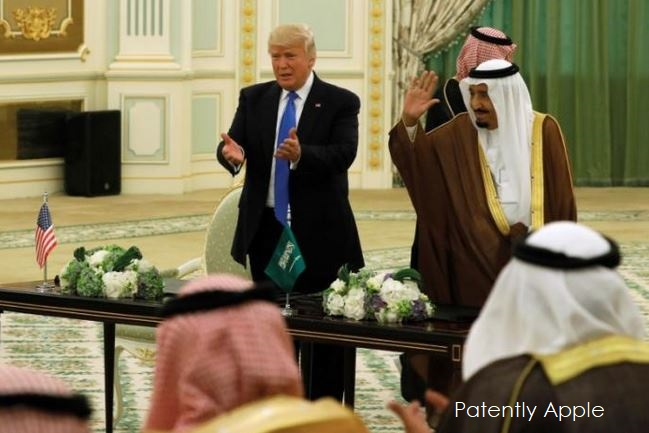 1af x 99 cover Trump in Saudi signing important trade deals