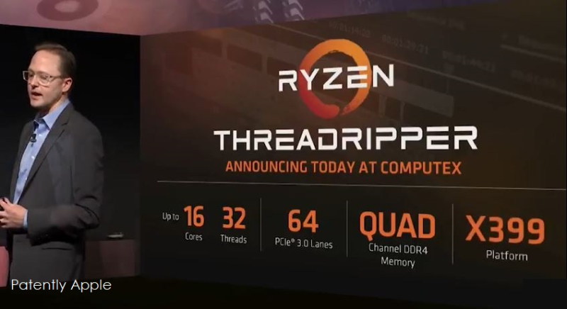 1af X99 COVER THREADRIPPER COMPUTEX 2017 - AMD