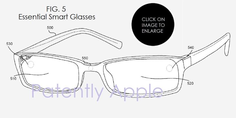 5AF X 99 - ESSENTIAL PRODUCT INC'S SMART GLASSES PATENT FIGURE