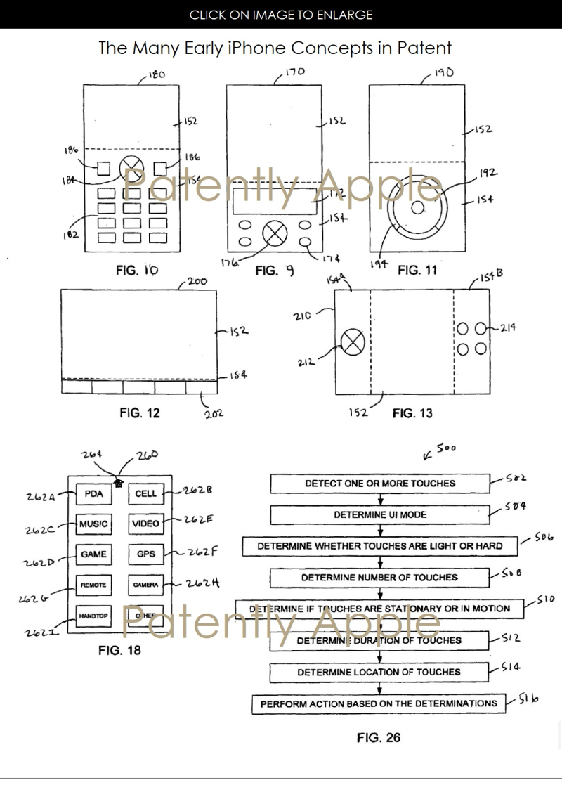 3af x 99 2006 apple patent for iphone