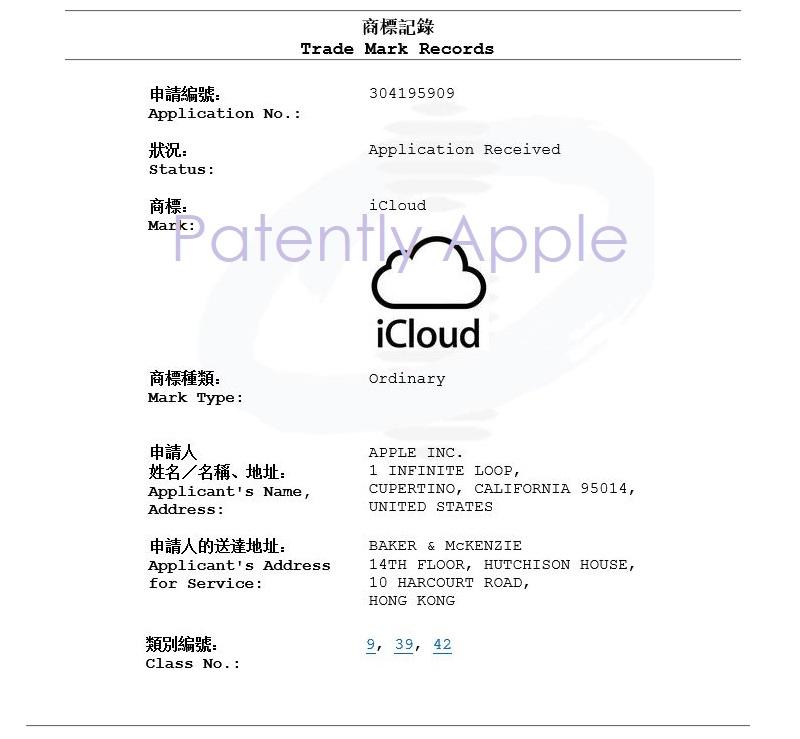 2AF X99 HK TM APPLICATION FOR ICLOUD