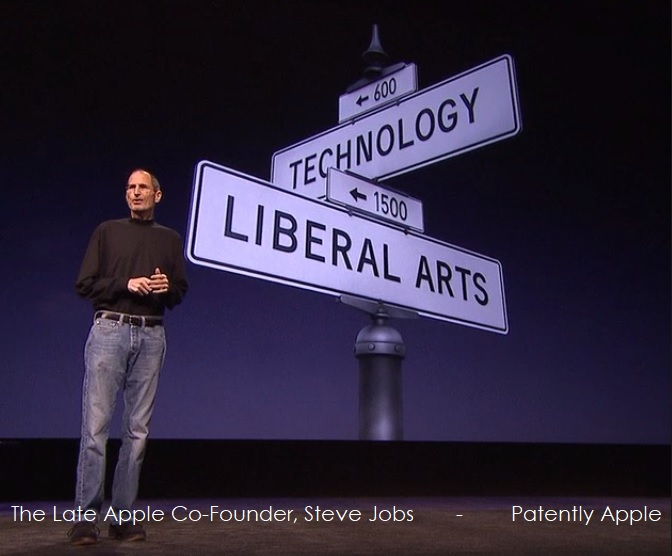 2AF 99 STEVE JOBS LIBERAL ARTS AND TECHNOLOGY