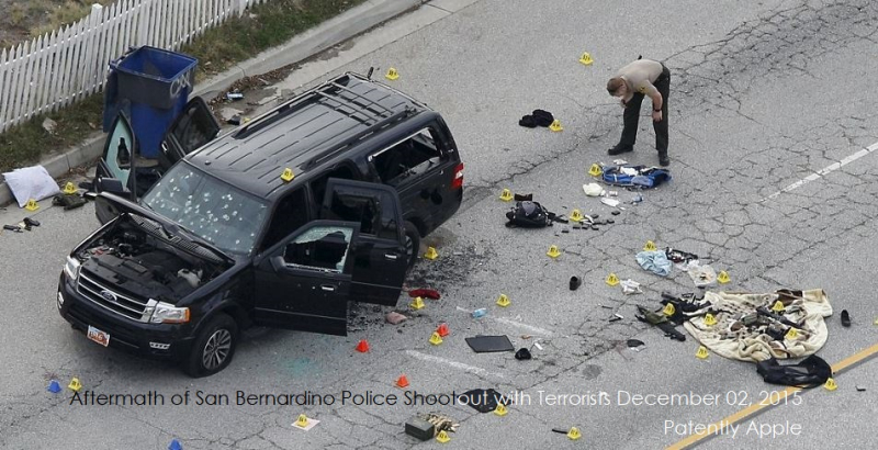 2AF X99 f2017 SAN BERNARDINO SHOOTOUT WITH TERRORISTS