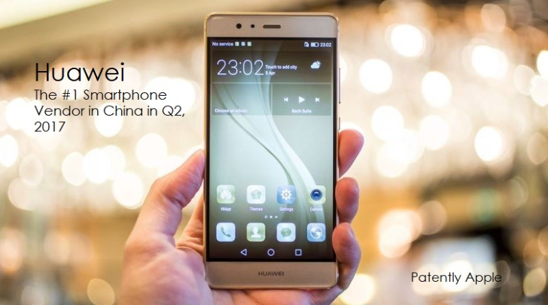 1AF 2017 COVER HUAWEI TOP SMARTPHONE VENDOR IN CHINA Q2 2017
