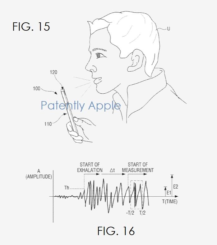 4 samsung patent figs 15 & 16