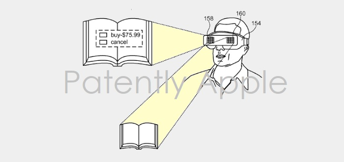 1AF X99 COVER 3D GLASSES APPLE PATENT GRANTED
